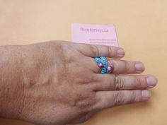 Bisuteriaycia: Anillos ajustables de macrame