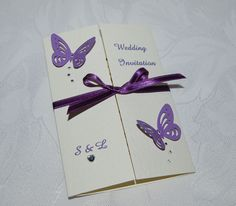 Butterfly Wedding Theme | Wedding Invitation. http ...