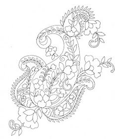 Embroidery Sketches Shared By Sarika Agarwal