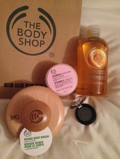 The Body Shop products #makeup #the body shop