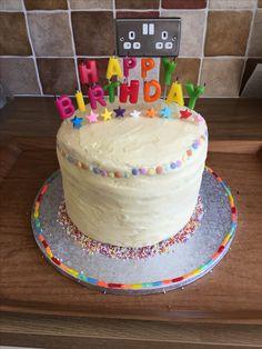 My rainbow cake ❤️