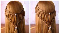 ✿ Tuto coiffure pour tous les jours ✿ Coiffure tresse facile a faire soi...