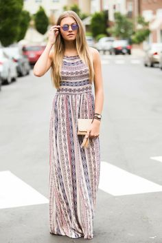Bring The Boho Maxi Dress – Swoon Boutique