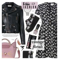 """""""Street style"""" by cly88 ❤ liked on Polyvore featuring Yves Saint Laurent, Oribe, Iron Fist, Skagen, Manic Panic NYC and vintage"""