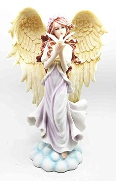 Beautiful Seraphim Angel of Love With Peace Dove Figurine... http://www.amazon.com/dp/B014HK14DK/ref=cm_sw_r_pi_dp_5IRnxb1J23FN8