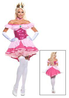 Sexy princess daisy costume