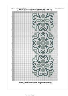 antique needlework modellerinden lilyum deseninin şemasının yenilenmesi ve seccade yada runner olarak işlenmeye ve kullanıma uygun halde ye...