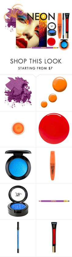 """""""neon beauty"""" by bellefeed ❤ liked on Polyvore featuring beauty, Bobbi Brown Cosmetics, Topshop, Lumière, Tom Ford, MAC Cosmetics, Rimmel, Beauty Is Life, Sisley and Urban Decay"""