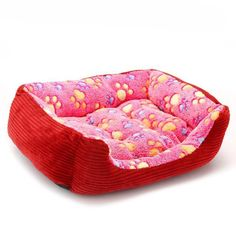 Warm Paw Print Dogs Bed  $55.04     #puppies #pets #dogs #cats #instadogs #petshop #doglovers #Wagging #kittens #waggingonline