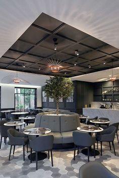 J'adore ce restaurant! | design d'intérieur, décoration, restaurant, luxe. Plus de nouveautés sur http://www.bocadolobo.com/en/inspiration-and-ideas/: