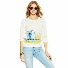 Just fell in love with the Lovebirds Intarsia Sweater for $79.98 on C. Wonder! Click on the image and receive 20% off your next full-price purchase and find something you love too!