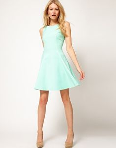 Enlarge Oasis Cut Out Back Fit & Flare Dress $113