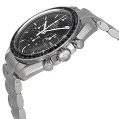 Omega Speedmaster Professional Moonwatch Black Dial Stainless Steel Men's Watch 31130423001005 - Speedmaster - Omega - Shop Watches by Brand - Jomashop