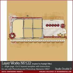 Layer Works No. 122- Studio Double-D Templates- LT679861- DesignerDigitals
