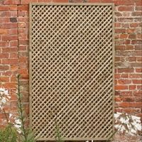The Picardy lattice garden fence is a decorative garden trellis which can be used to support climbing plants. Visit Shedstore for our fantastic range of trellis. Fence Landscaping, Backyard Fences, Pool Fence, Garden Fencing, Garden Trellis Panels, Garden Dividers, Wooden Trellis, Lattice Fence, Lattice Garden