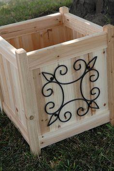 Cedar Wood Planter Boxes 18 x16 $31