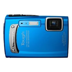 Olympus Tough MP Digital Camera with Wide Optical Zoom and LCD, (Blue) - - Product Description: 14 Megapixels, x Optical Zoom, LCD, Waterproof Underwater Photography, Video Photography, Camera Photography, Best Compact Digital Camera, Best Waterproof Camera, Cameras Nikon, Point And Shoot Camera, Singapore Travel, Camera Reviews
