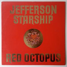 Jefferson Starship - Red Octopus  LP Vinyl Record Album, Grunt Records-BFL1-0999, Rock, Classic Rock, 1975, Original Pressing