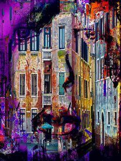'Once at Venice' von Gabi Hampe bei artflakes.com als Poster oder Kunstdruck $23.56