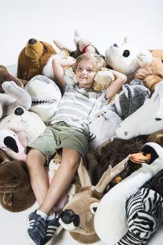 Dierenkop Engelse bulldog - Matthew - muurornament - Wild & Soft