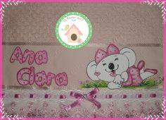 Toalha de mão rosa com Lilica Ripilica!!