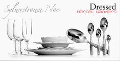 Sywestrowa noc z ALESSI (koncepcja nakrycia stołu 2012/13) - http://www.fabrykadesignu.com/category/marcel-wanders-dressed