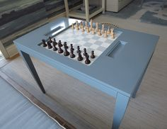 Chess Table from Oomph | The Local Vault