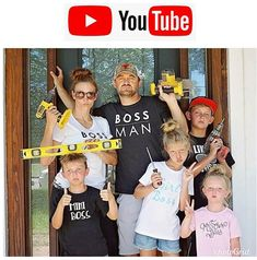 I know I always LOVE to get to know the people behind the pics as much as possible!  Did you guys know we have a Youtube channel?! Go check it out!! My fav is DEFINITELY my kids homemade playdough video... their laughter melts my heart!!  We have more videos in the works so please subscribe!!. . . .#renovationfamily #adventuringfamily #together #travelingclan #7daytransformation #7dayreno #7dayhouserenovations #teamdesign #renovateanddesign #completetransformations #facelift #7dayfacelift…