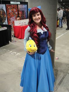 Comikaze Expo 2011 - Ariel and Flounder from the Little Mermaid by Pop Culture Geek, via Flickr