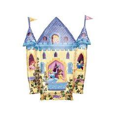 Airfilled Princess Castle Balloon