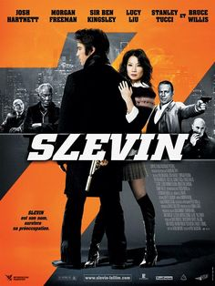 Lucky Number Slevin , starring Josh Hartnett, Ben Kingsley, Morgan Freeman, Lucy Liu. A case of mistaken identity lands Slevin into the middle of a war being plotted by two of the city's most rival crime bosses: The Rabbi and The Boss. Slevin is under constant surveillance by relentless Detective Brikowski as well as the infamous assassin Goodkat and finds himself having to hatch his own ingenious plot to get them before they get him. #Crime #Drama #Mystery #Thriller