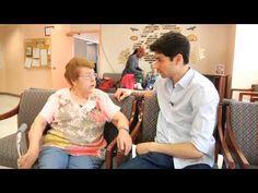ben aaron parties with a few seniors citizens youtube having fun https - Ben Aaron