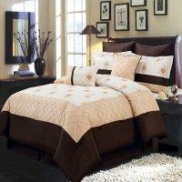 R-T™ 8pc Luxury Comforter Set- Madison- Gold
