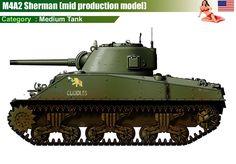 M4A2 Sherman (mid production model)