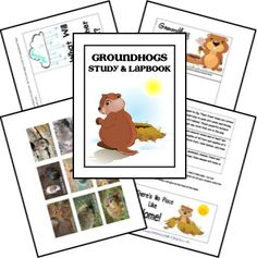 FREE Groundhog Unit Study and Lapbook