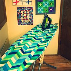A Quilter's Table: Studio One :: Ironing Board Cover