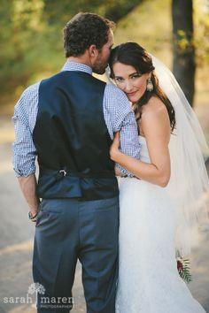 Backyard wedding in Loomis, California - Happy couple - Sarah Maren Photography