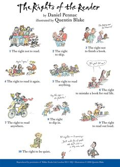 Rights of a reader.