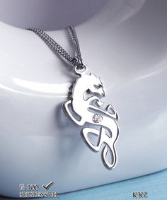 Axcesi 1030 Dragon necklace  Stainless steel pendant by Axcesi