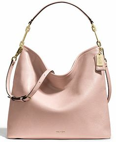 COACH MADISON HOBO IN LEATHER - COACH - Handbags & Accessories - Macy's