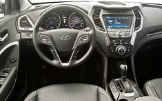 .:. Hyundai Santa Fe Sport Interior .:. (New 2013 Cars With Best Interior Design - Top 10)