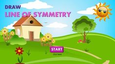 #SYMMETRY #EXERCISES This colorful animated #PowerPoint presentation is perfect for your students to learn and review symmetry skills!Draw line of symmetry includes symmetry of:1. #Pictures2. 2D #Shapes 3. Alphabet #Letters 4. #Houses 5. # Patterns