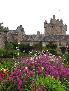 The garden, Cawdor Castle