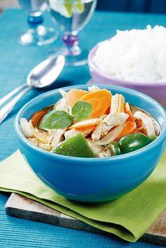 Punainen broileri-kasviscurry | K-Ruoka #aasia