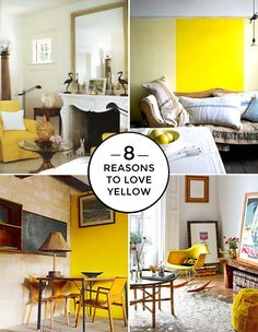 Using Yellow: How to Add a Dash of Warmth to Your Home - from http://interiorcollective.com