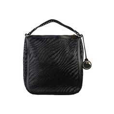 Sac à main Cavalli Class black Travel Bags, Zip, Leather, Black, Products, Travel Handbags, Black People, Suitcase Storage, Gadget