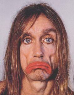 Richard Burbridge, Iggy Pop sad clown, Dazed and Confused