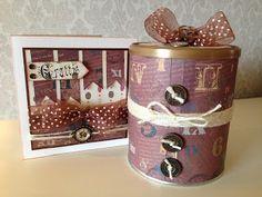 Randis hobbyverden: Maskulint sett med gaveboks og kort