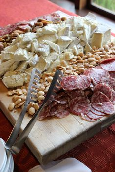 Cabernet Franc Cheese, Charcuterie and Gourmet Nut Board