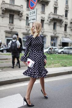 Milan Fashion Week street style [Photo by Kuba Dabrowski]